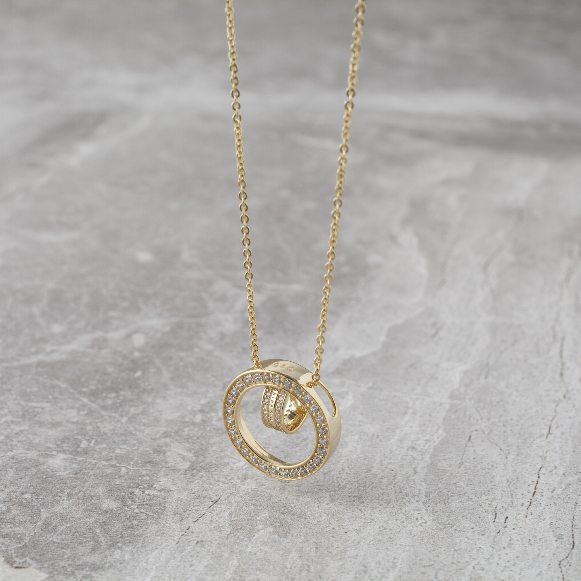 initial n necklace letter gold