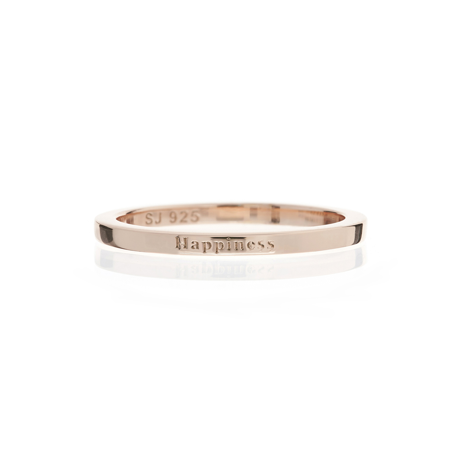 Happiness ring in rose gold